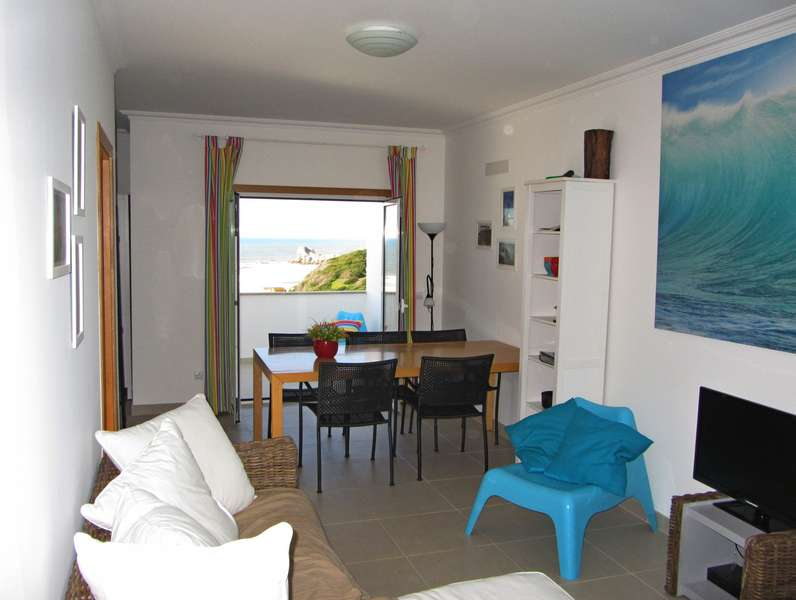 Zeezicht Portugal - Beach apartment Solmar living sea view