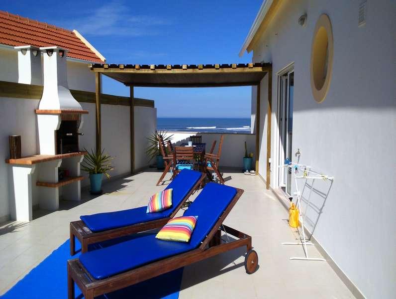 Beach apartment Portugal - Beach apartment Solmar terras view 2