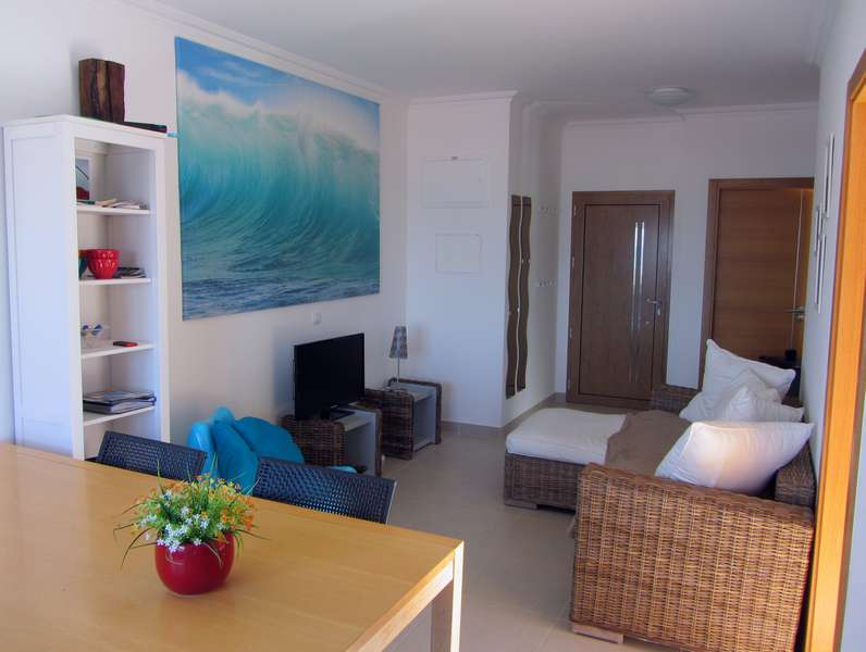Beach Apartment Portugal Living Entry View