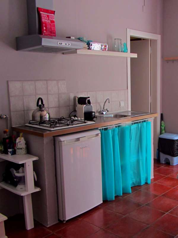 Kinderurlaub Portugal accommocatie - Canto kitchenette