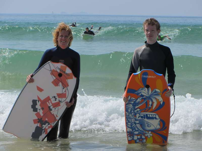 Casa Cantiga actieve vakantie portugal 12 bodyboard