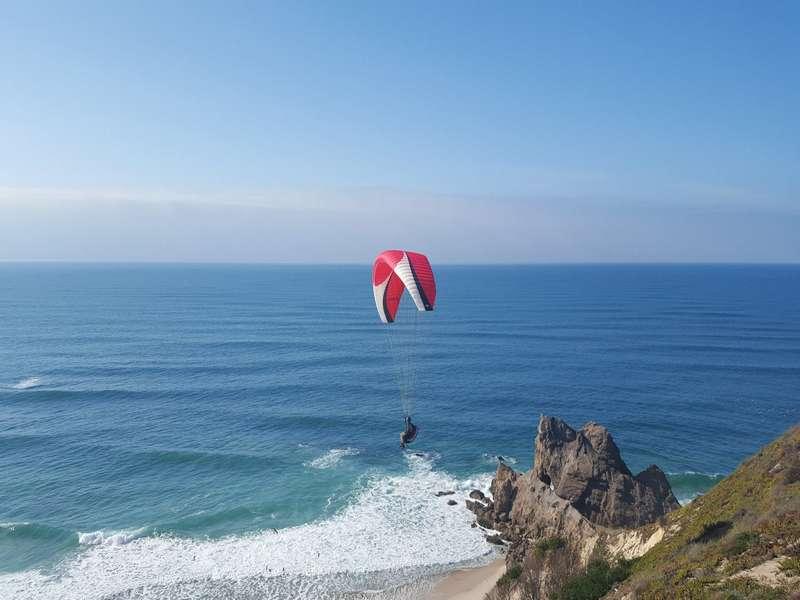 Casa Cantiga actieve vakantie portugal 13 paragliding