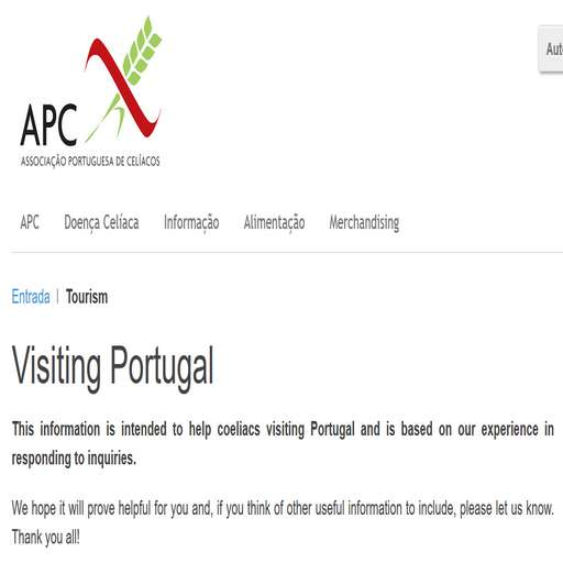 Casa Cantiga glutenvrije vakantie portugal accommodaties