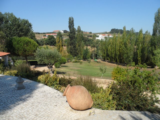 Holiday villa Portugal - Casa da Joana back garden