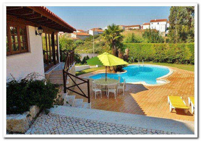 Vakantievilla Portugal - Casa da Joana poolview