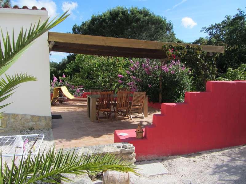Vrijstaand vakantiehuis Zilverkust - Casa no Pomar terras view_tn Casa no Pomar terras view from side