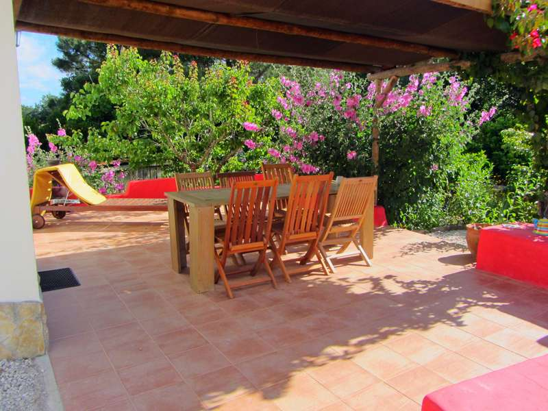 Vrijstaand vakantiehuis Zilverkust - Casa no Pomar terras view