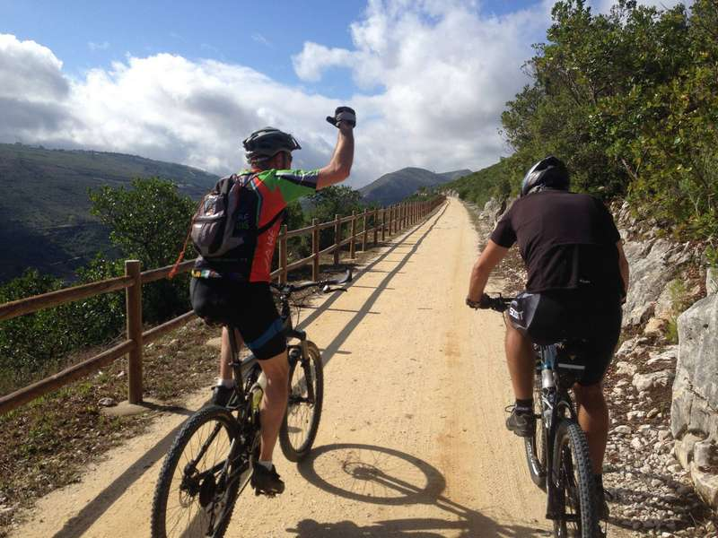 Casa Cantiga mountain bike holiday portugal 10