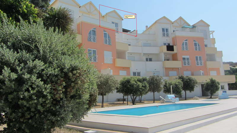 Zeezicht Portugal - beach apartment Somar topfloor appartement