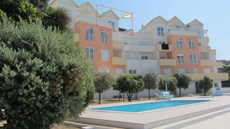 Beach apartment Portugal - SolMar topfloor appartement