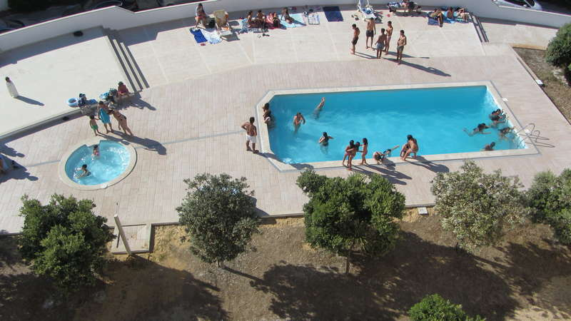 Zeezicht Portugal - Beach apartment Solmar from swimmingpool area view