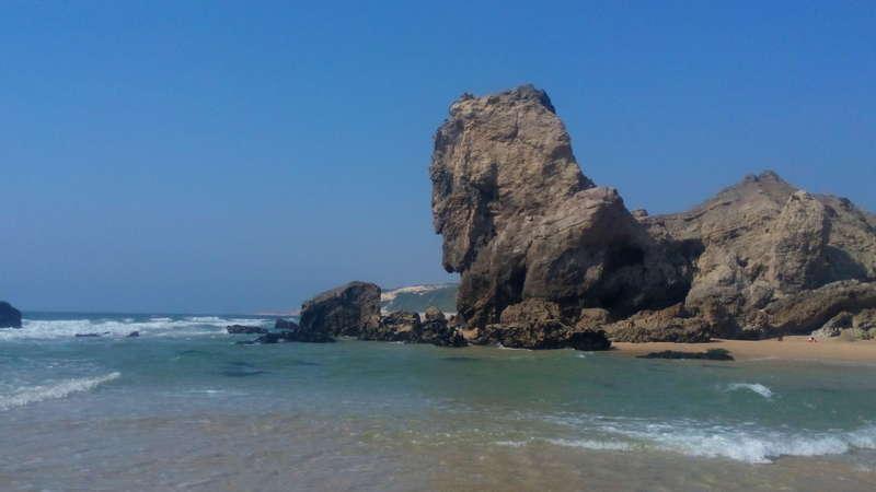 Zeezicht Portugal - zwembad paredes