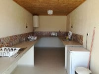 glamping shared kitchen with private section 1