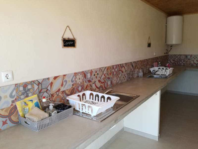glamping shared kitchen with private section 2