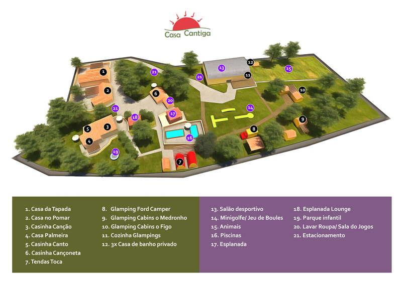 Parque de férias Portugal com ambiente favorável às crianças