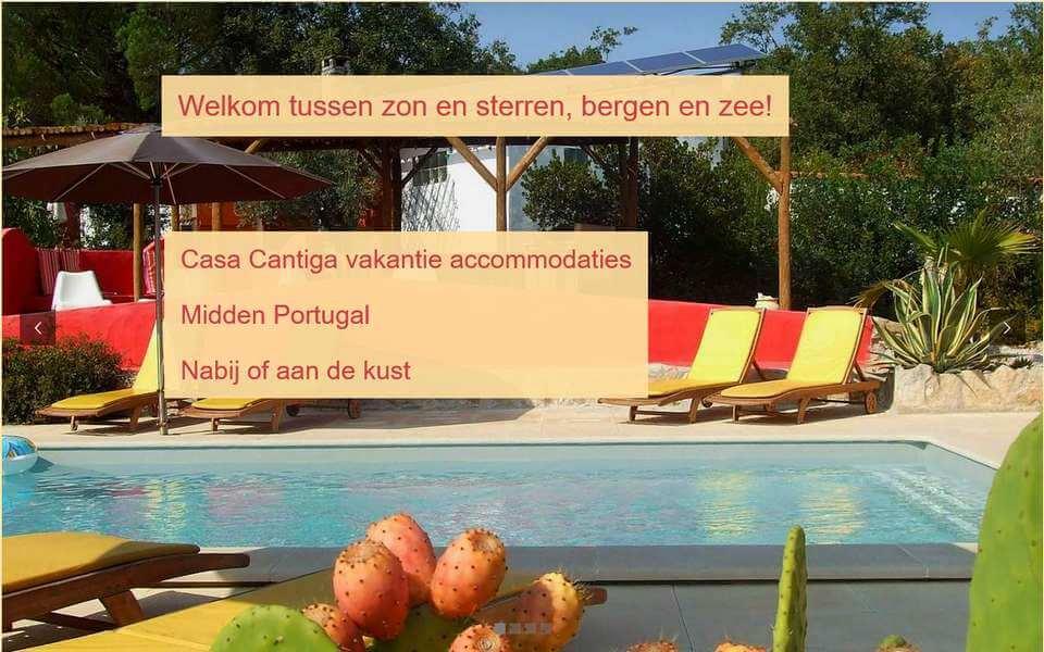 Casa Cantiga verhuur kindvriendelijke vakantie accomodaties Portugal