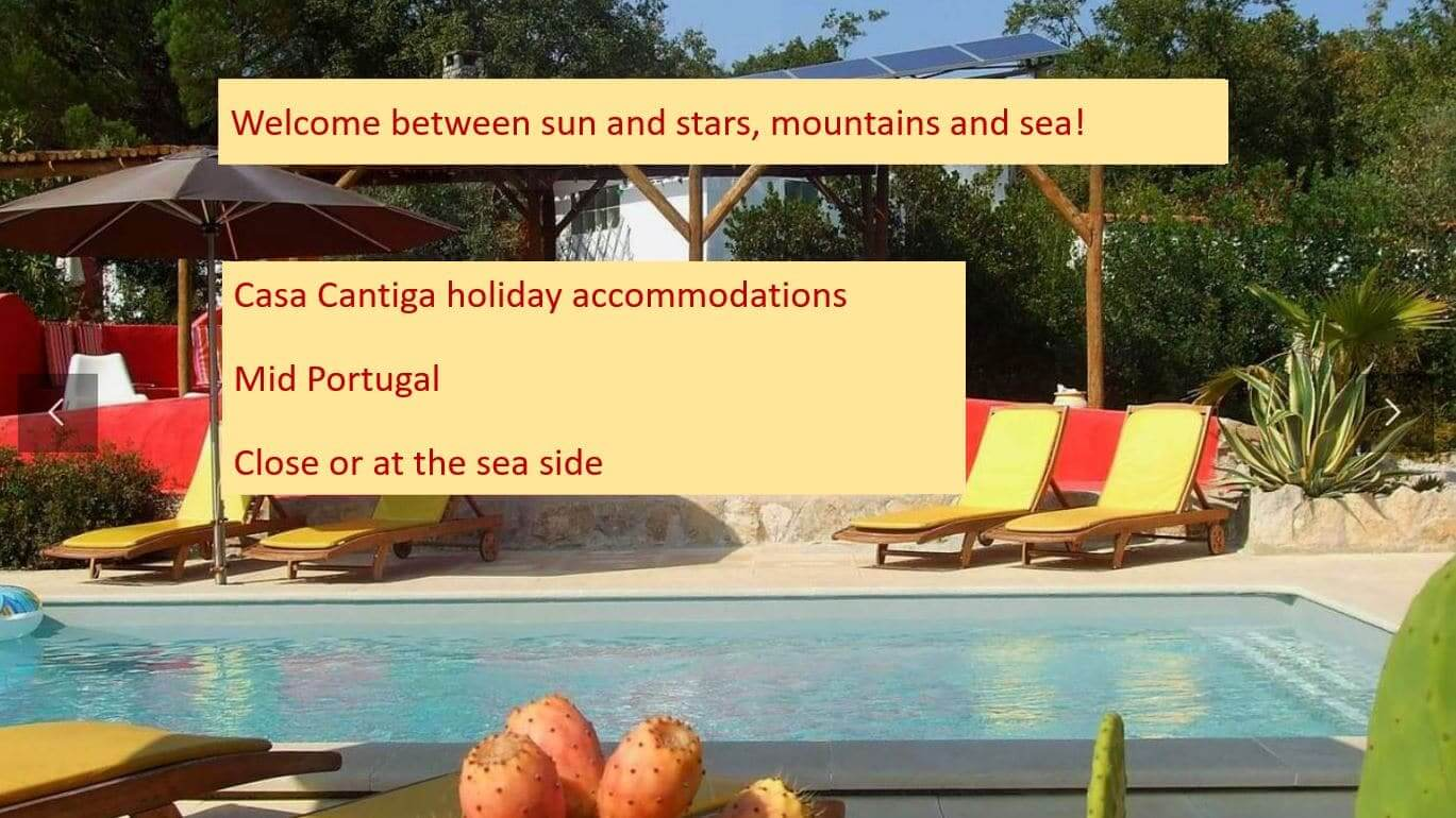 Casa Cantiga child friendly holiday accommodations Portugal