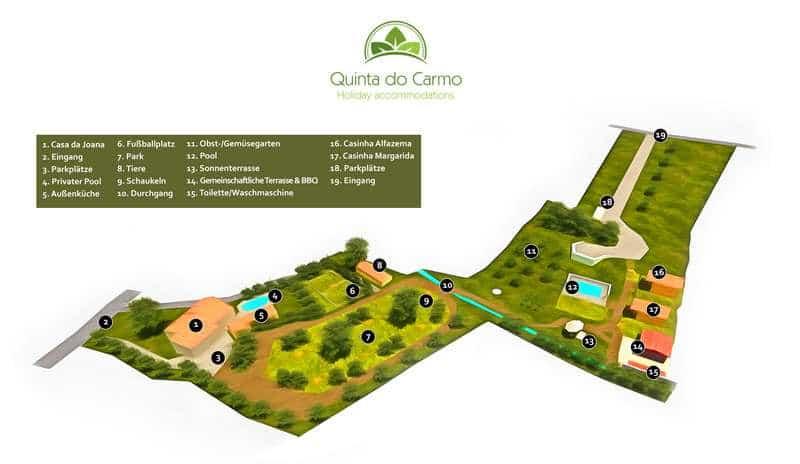hölzerne erien Hütten Portugal - Quinta do Carmo
