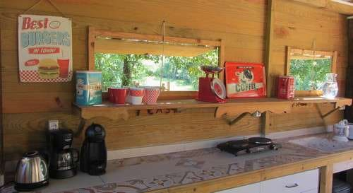 Casa Cantiga glamping holiday Portugal child friendly resorts - example private kitchen