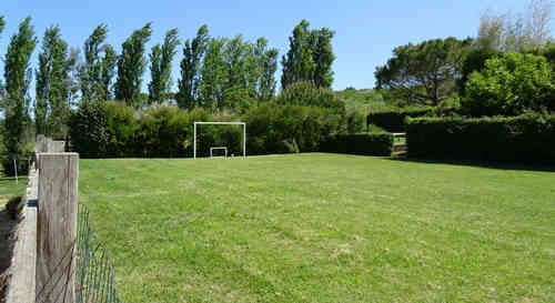 Quinta do Carmo - child friendly and small holiday resort Portugal,  Alcobaça Nazere, Silver Coast - Football field