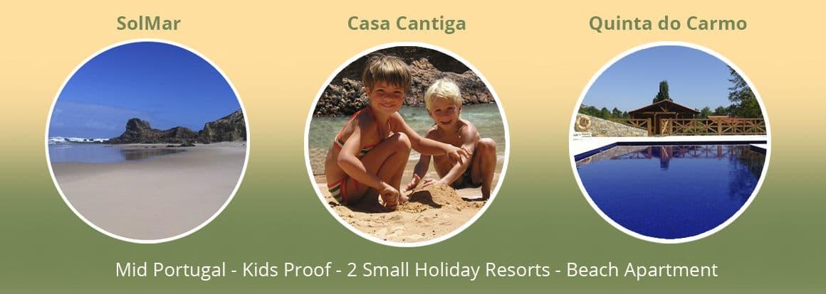 Casa Cantiga child friendly holiday accommodations Portugal