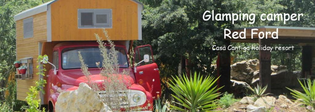 Glamping urlaub Portugal in kleines und kinderfreunclicher ferienanlage