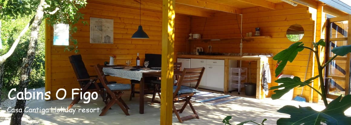 glamping holiday Portugal at small and child friendly resort Casa Cantiga
