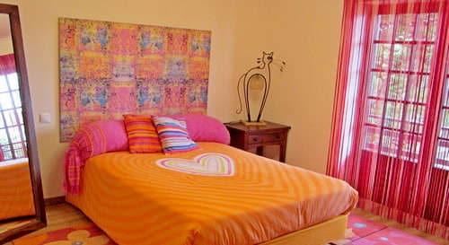 villa at small resort holiday portugal ideal with kids _Casa da Joana_Quinta do Carmo bedroom 1
