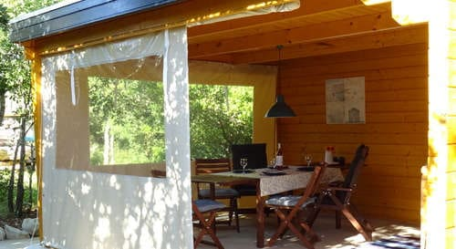 glamping holiday Portugal at small and child friendly resort Casa Cantiga_wind covers o figo