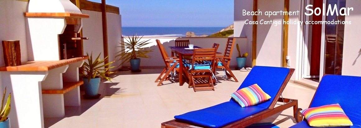 Beach holiday apartment Portugal close to Nazaré Silver Coast mid Portugal
