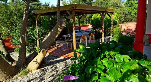 holiday house Costa Prata Portugal at child friendly small resort
