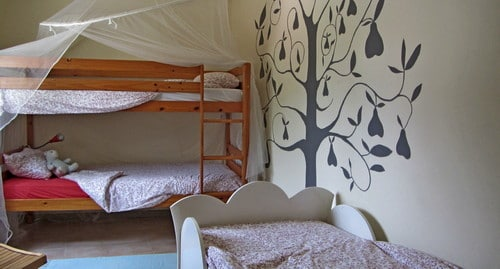 detached holiday house at child friendly resort in Portugal close to the sea_bedroom kids
