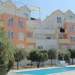 strand vakantie appartement zilverkust Portugal dichtbij Nazaré_aanzicht
