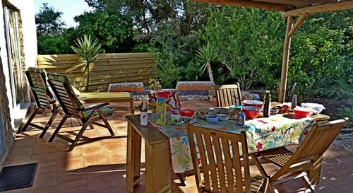 detached holiday home ideal with small kids mid Portugal_Casa no Pomar_terrace