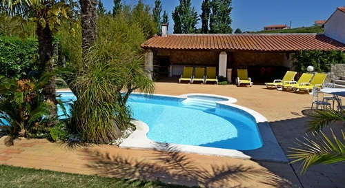 holliday villa mid Portugal Casa da Joana private pool
