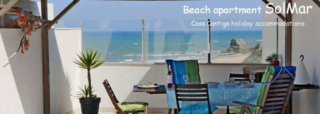 Vakantie midden Portugal aan zee_beach appartment SolMar