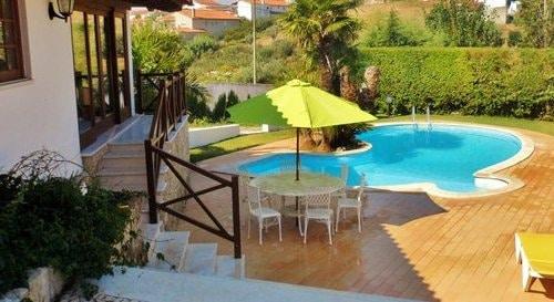 Privaten Pool landhaus Casa da Joana für ihren urlaub im Mittelportugal im nähe das Meer